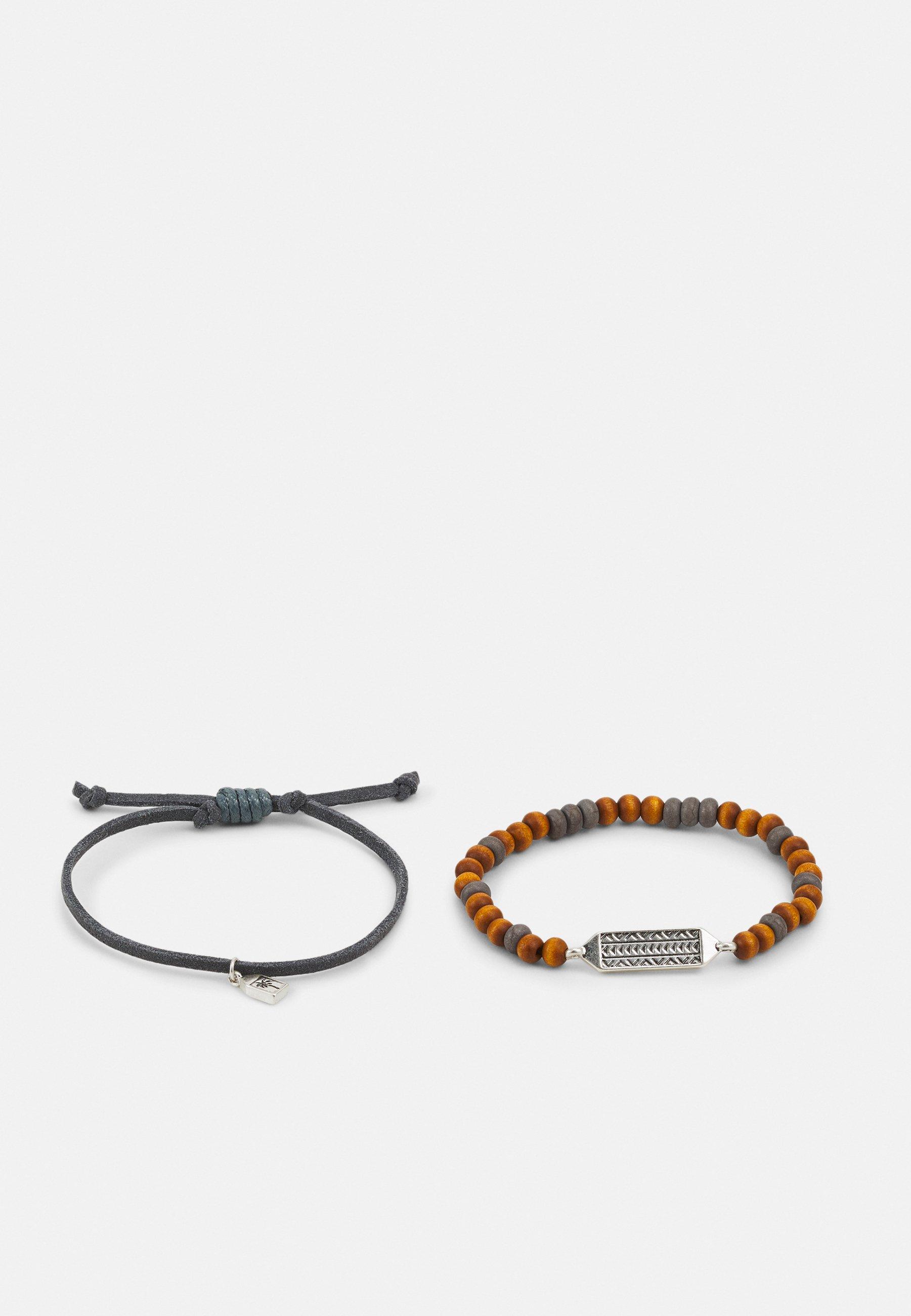 Homme SUN RISE PALM AND ARROW BRACELET 2 PACK - Bracelet