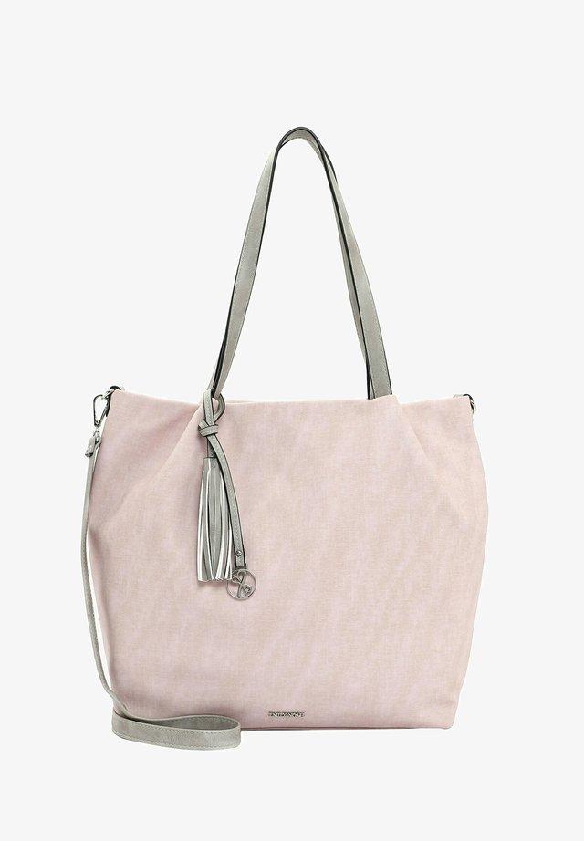 ELKE - Shopping bag - rose