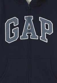GAP - BOY COZY LOGO - Felpa aperta - blue galaxy