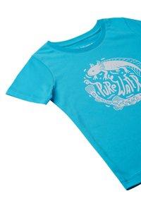 Reima - AJATUS - Print T-shirt - aquatic - 2