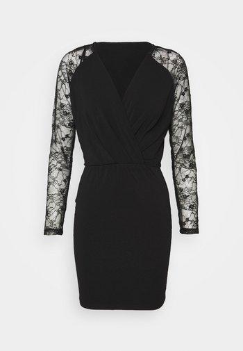 VMJAFFA SHORT DRESS - Day dress - black