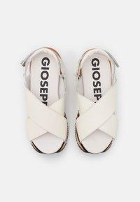 Gioseppo - Platform sandals - blanco - 5