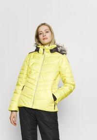 Icepeak - VIDALIA - Skijakke - yellow - 0