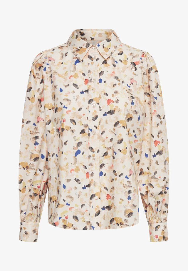 Camisa - paint dot, neutral