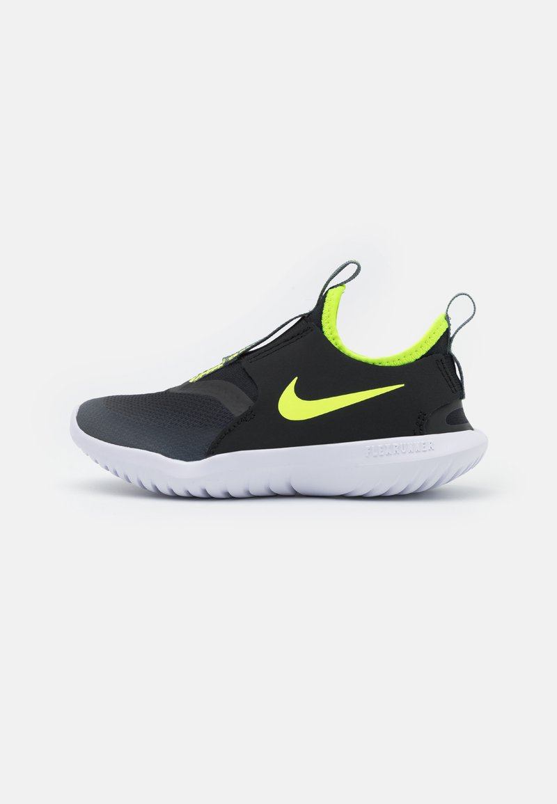 Nike Performance - FLEX RUNNER UNISEX - Obuwie do biegania treningowe - smoke grey/volt/black/white