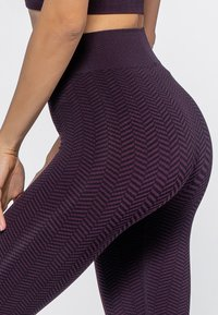 Heart and Soul - Collant - black/plum - 4