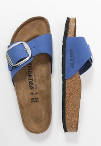 Birkenstock - MADRID - Slippers - azure blue - 3