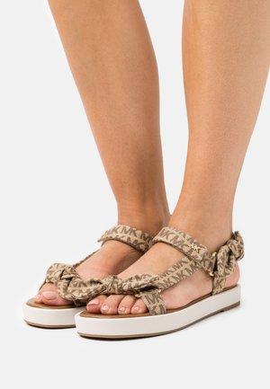 PHOEBE - Sandals - beige/ebony