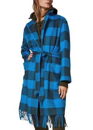 À FRANGES - Classic coat - khaki check