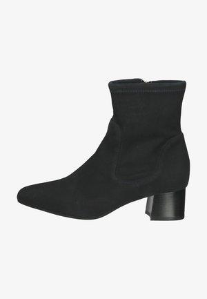Korte laarzen - navy suede