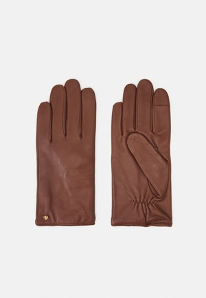 Gloves - dill saddle