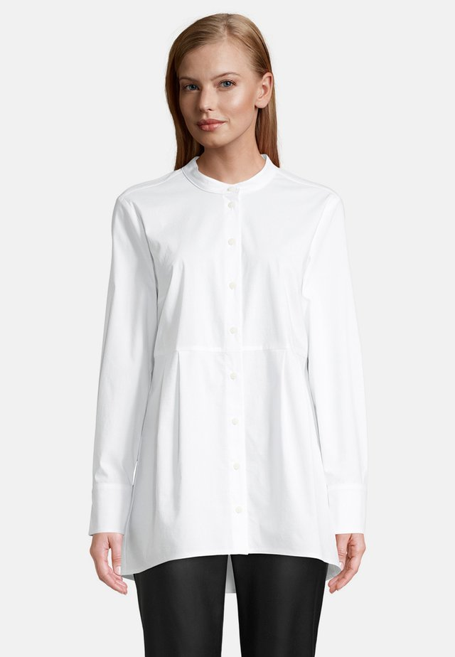 LONG SLEEVES - Button-down blouse - weiß