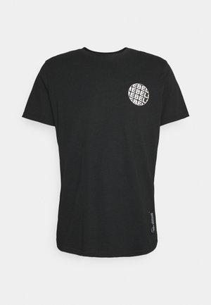 JACE TEE UNISEX - Print T-shirt - black