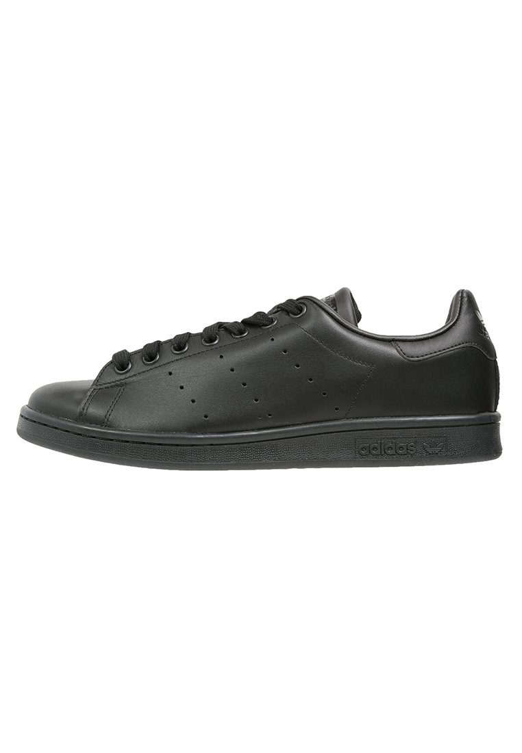adidas Originals - STAN SMITH - Trainers - black