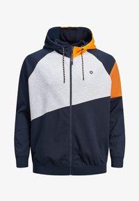 Jack & Jones - Zip-up hoodie - mottled dark blue - 6