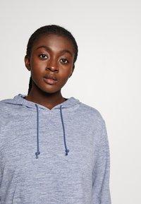Nike Performance - YOGA CROP PLUS - Camiseta de deporte - diffused blue - 3