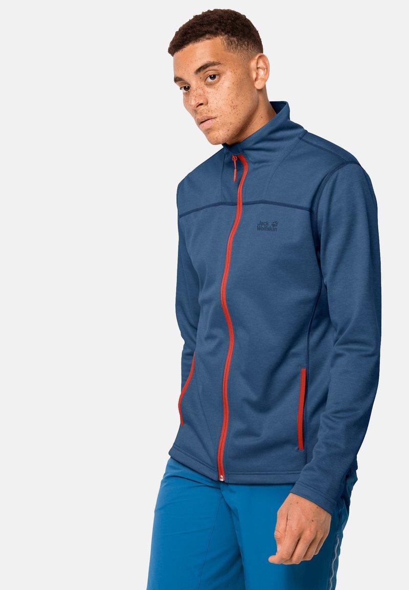 Jack Wolfskin - HORIZON - Fleece jacket - indigo blue