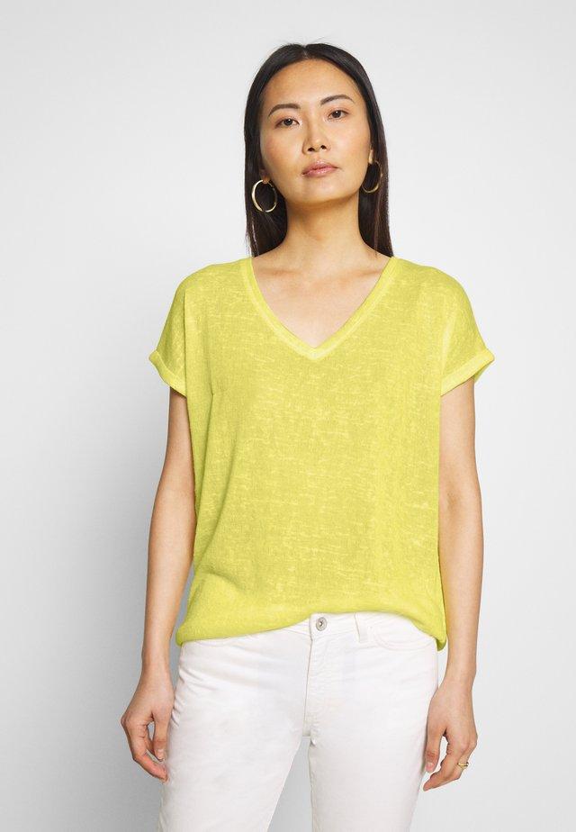 Jednoduché triko - lemon sorb