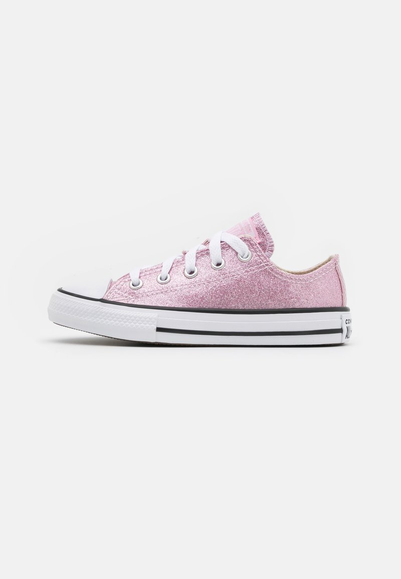 Converse - CHUCK TAYLOR ALL STAR GLITTER - Trainers - pink glaze/white/black