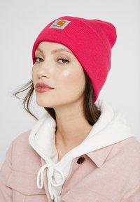 Carhartt WIP - WATCH HAT UNISEX - Beanie - ruby pink - 3