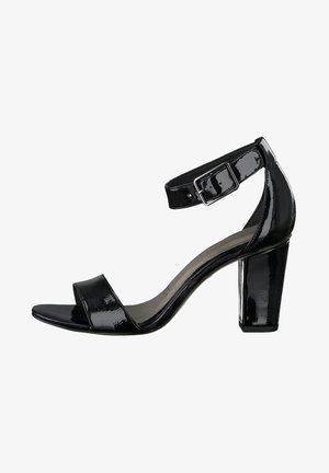 TAMARIS SANDALETTE - High heeled sandals - black