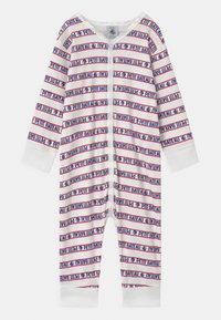 Petit Bateau - DORS BIEN SANS PIEDS - Pyjamas - white/blue/red - 0