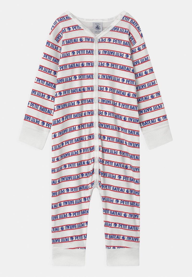 Petit Bateau - DORS BIEN SANS PIEDS - Pyjamas - white/blue/red