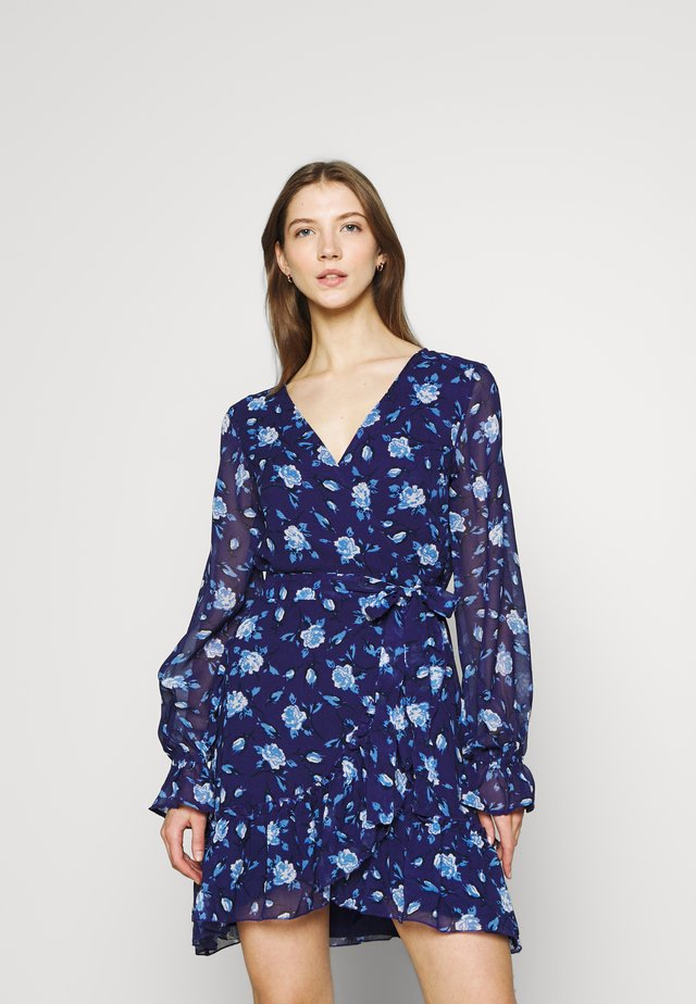 JULIANNA WRAP DRESS - Robe de soirée - navy