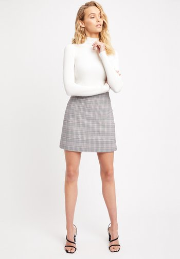 A-line skirt - tl-gris