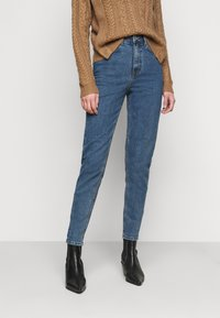 Object Tall - OBJVINNIE MOM - Vaqueros boyfriend - medium blue denim - 0