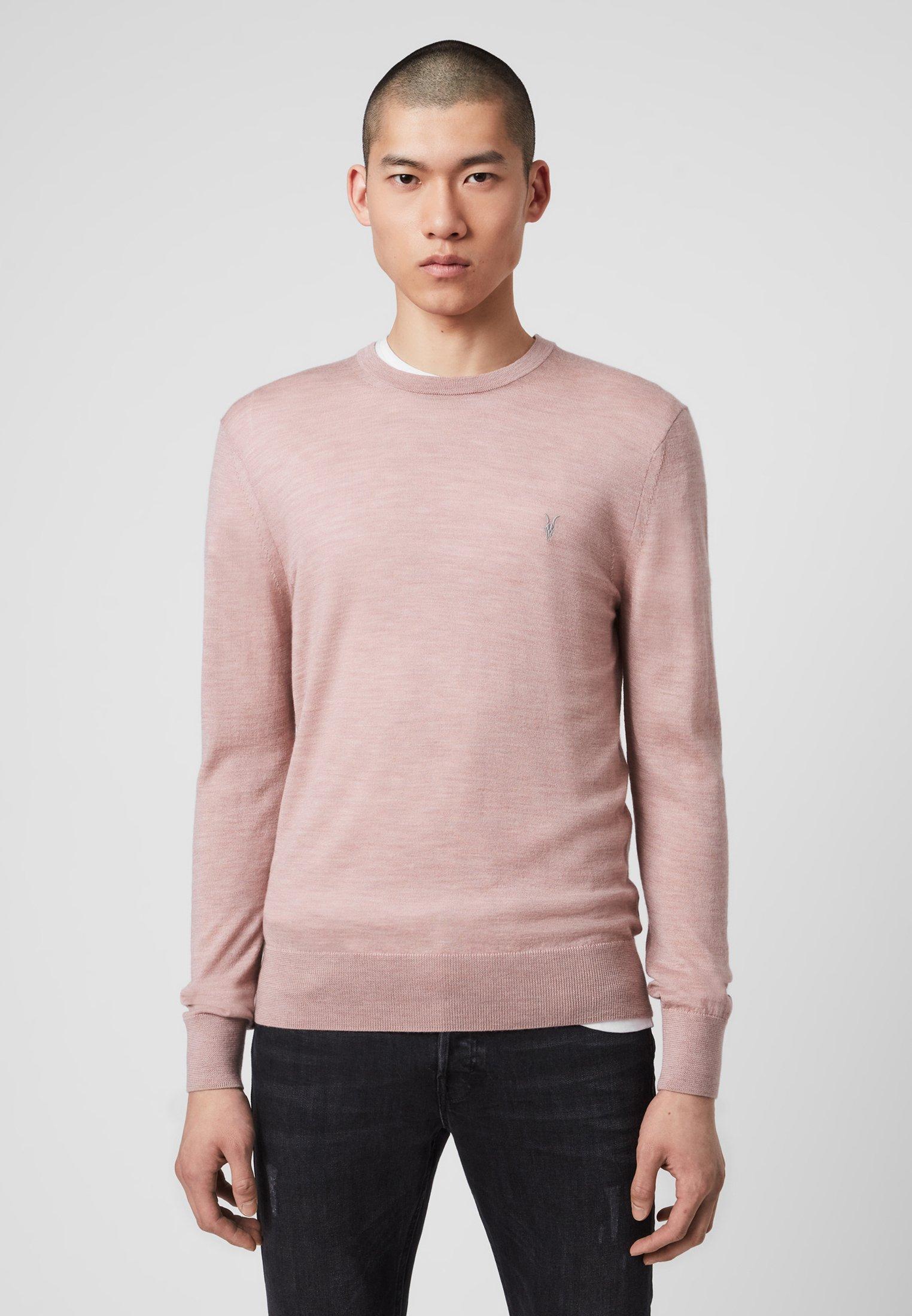 AllSaints MODE MERINO CREW - Pullover - pink