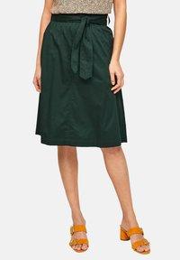s.Oliver BLACK LABEL - A-line skirt - leaf green - 4