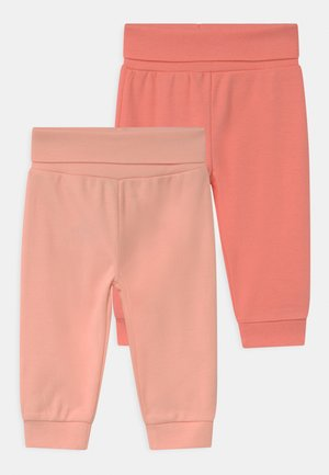 GIRLS 2 PACK - Kalhoty - light pink/pink