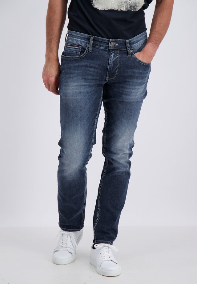 Straight leg jeans - denim blues