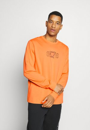 PARQUET GRAPHIC TEE - Langarmshirt - ultra orange