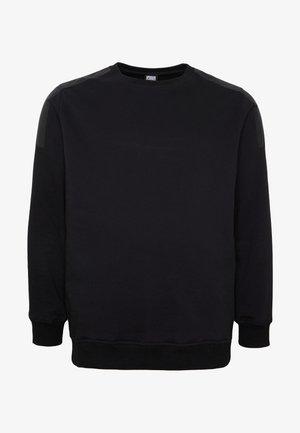 MILITARY SHOULDER CREW  - Sweatshirt - black