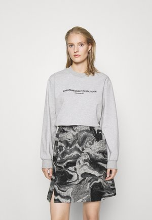 LURING - Long sleeved top - grey mix