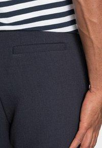 Weekday - MARD TROUSERS - Trousers - blue melange - 4