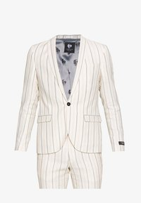 Twisted Tailor - BUFONI SUIT - Oblek - stone - 8