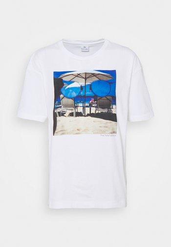 WOMENS - Print T-shirt - white