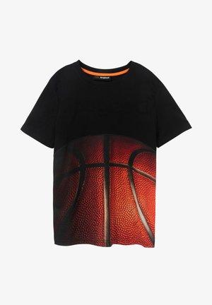 TS_MANUEL - Print T-shirt - black