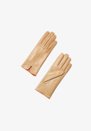 Gloves - nocciola