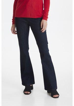 PZLIVA - Flared Jeans - dark blue denim