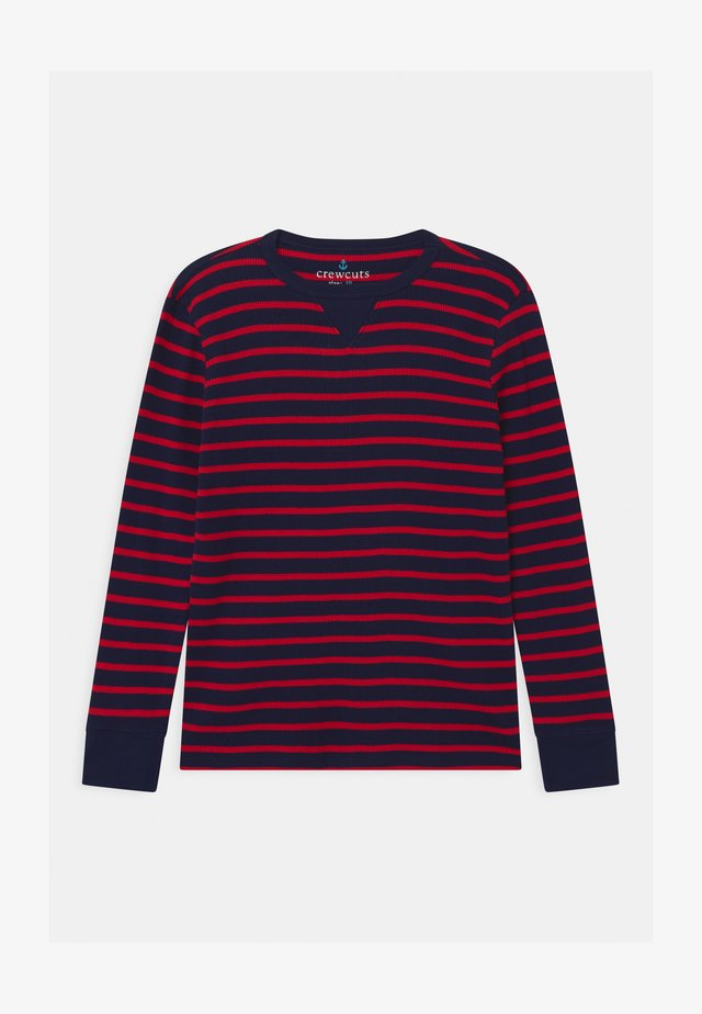 STRIPE  - Camiseta de manga larga - navy maraschino