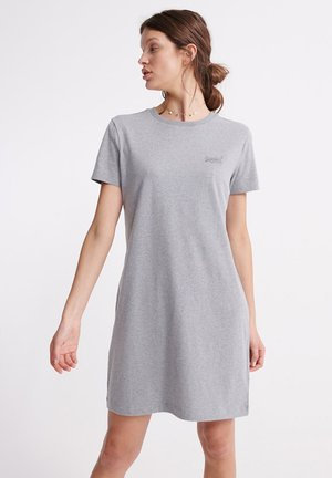 ORANGE LABEL - Jersey dress - grey
