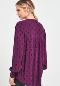 Next - Button-down blouse - berry - 1