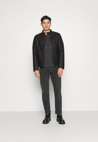 TOM TAILOR - Faux leather jacket - black - 1