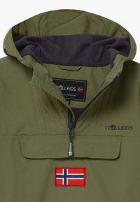 TrollKids - KIRKENES - Ski jacket - khaki green/anthracite - 2