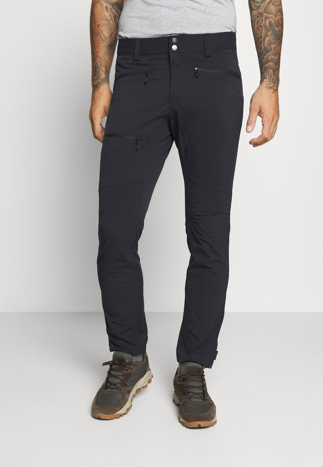 RUGGED FLEX PANT MEN - Pantalones montañeros largos - true black solid