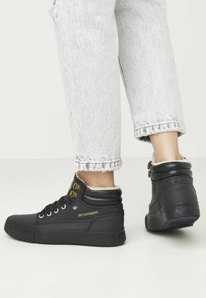 BUCK - Sneakers laag - black/black